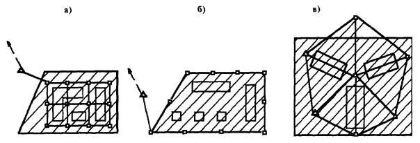 а) в виде строительной сетки;