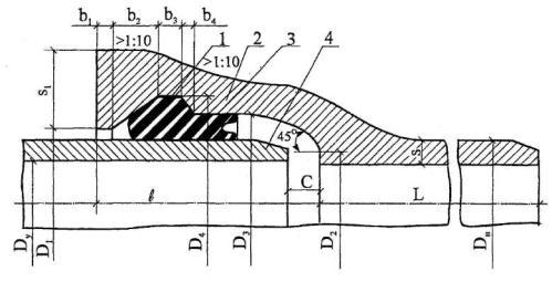 Кольца резиновые уплотнительные манжеты для чугунных напорных труб 50 300мм