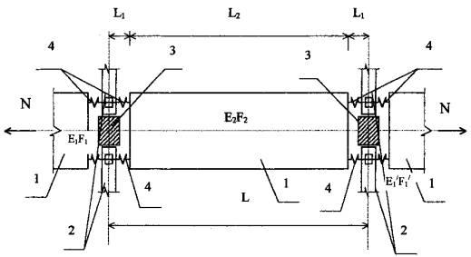 Расчетная схема плиты перекрытия 981