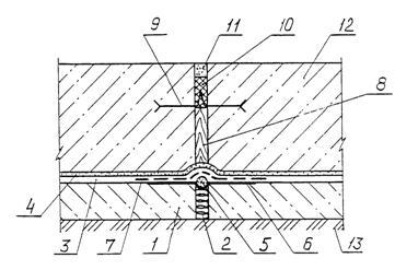 Гидроизоляция примыкания труб в панельном доме цниипромзданий гидроизоляция