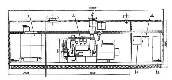 четырехтактный двигатель с