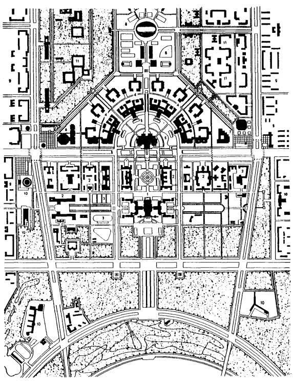 план развития Московского