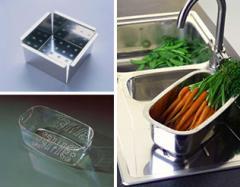 Анонс: Аксессуары для кухонных моек
