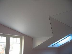 Натяжной потолок ПВХ, матовый белый