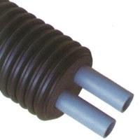 Труба в изоляции ФЛЕКСАЛЕН 600, 2-трубы, для ХВС и ГВС, d 25-63 мм