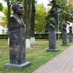 Аллея Героев социалистического Труда - новый повод для гордости в Воскресенске