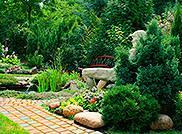 Анонс: Мощение садовых дорожек натуральным камнем
