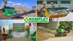 KOMPLET - подготовка компонентов для строительных смесей и бетонов