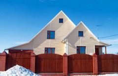 Анонс: Виниловый сайдинг - красивый фасад на десятки лет