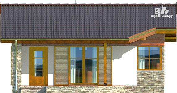Фото 4: проект одноэтажный дом из несъемной опалубки