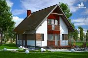 Проект дом из несъемной опалубки