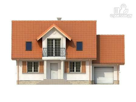 Фото 4: проект дом из несъемной опалубки с гаражом