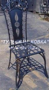 Кованая стулья для дачи