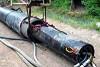 Пневмоударная установка HammerHead Mole® в горизонтальном направленном бурении