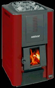 Дровяная печь для бани Harvia 20, до 20 м3