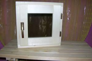 Двери окна в баню сауну
