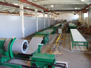 Автоматизированные линии для производства сэндвич-панелей