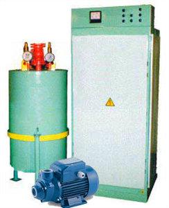 Котел водогрейный электрический КЭВ-400 электрокотел отопления
