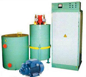 Паровой котел электрический КЭП-350 парогенератор промышленный