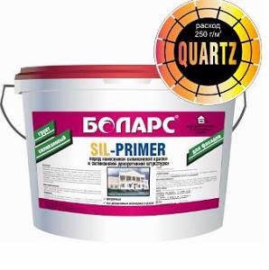 Грунт силиконовый Sil-Primer Color Quartz 7 кг
