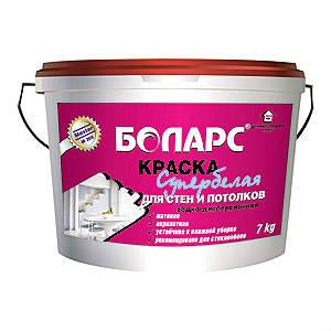 Краска супербелая для стен и потолков 15 кг