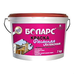 Краска фасадная латексная 15 кг