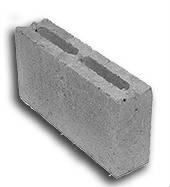 Перегородочный блок 2-х пустотный бетонный КПР-ПР-ПС-39 (СКЦ-2)