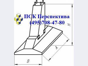 Составной фундамент Ф1,5 Ф2