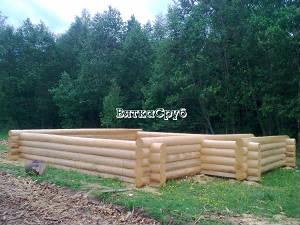 Хвойные срубы: деревянные бани и дома