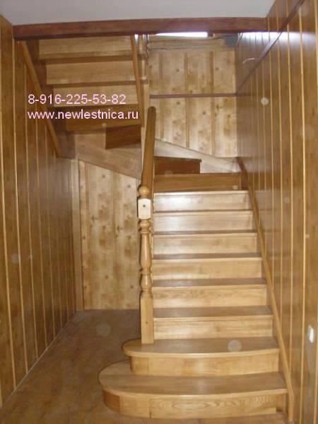 Фото П-образная лестница