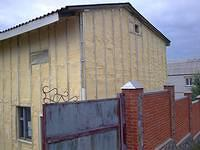 Утепление стен деревянного дома. Утепление наружных стен под сайдинг пенополиуретаном,Утеп