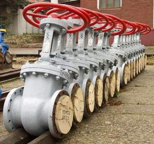 Запорная арматура, детали трубопровода
