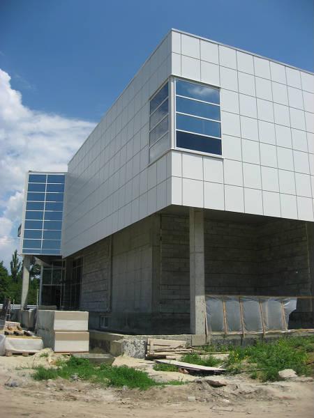 Фото Вентилируемые фасады, монтаж керамогранита