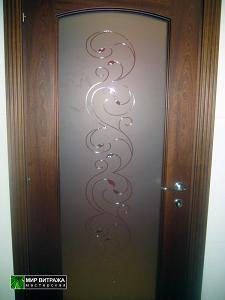 Витражи для дверей