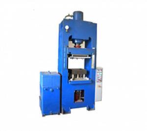 Пресс гидравлический  для изготовления полимер-песчаной плитки Д2430Б Р=100т