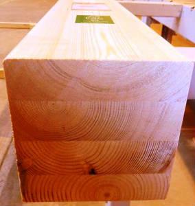 Балка клееная строганная шир.=120, 140, 160, 180, 200 мм