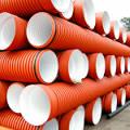 Фото 1: Полипропиленовые гофрированные трубы для наружной и ливневой канализации