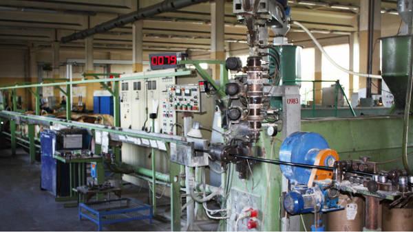Фото Оборудование для изготовления кабеля