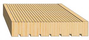 Террасная доска из массива лиственницы