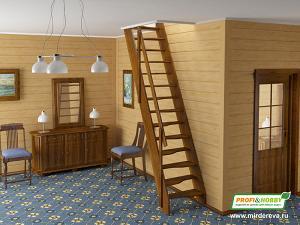 Готовые крашеные лестницы PROFI&HOBBY™