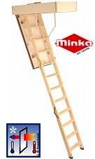 Огнестойкая чердачная лестница EUROFIRE PROTECT (MINKA)