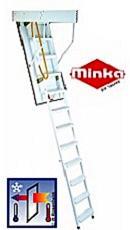 Складная чердачная лестница STEEL