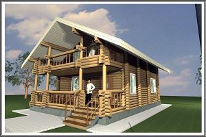 Строительство деревянных домов и дачных домиков в Новосибирске