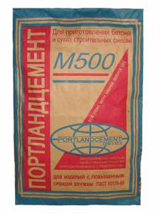 Цемент М500 Д0 (Себряковцемент)
