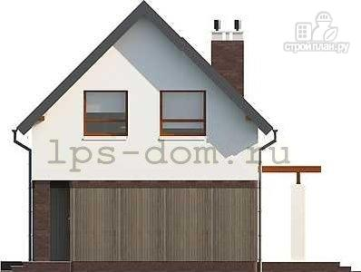Фото 10: проект дом каркасный с террасой на заднем дворе