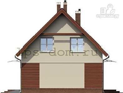 Фото 7: проект дом каркасный со встроенным гаражом