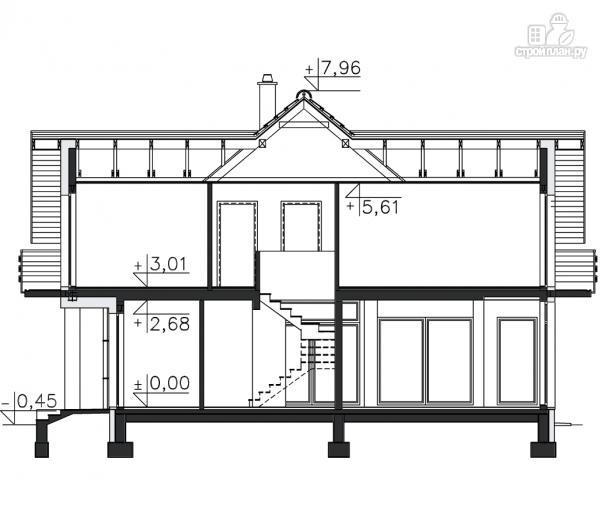 Фото 11: проект каркасный дом из высококачественной доски первого сорта 150х50