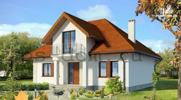 Фото: проект каркасный дом из высококачественной доски первого сорта 150х50