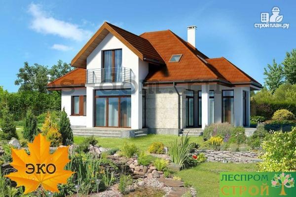 Фото 2: проект каркасный дом из высококачественной доски первого сорта 150х50