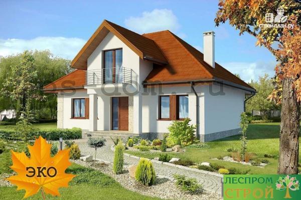 Фото 3: проект каркасный дом из высококачественной доски первого сорта 150х50